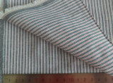 Grey Stripe Oxford 125GSM 100% Cotton Yarn Dyed Fabric