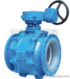 Teflon Lined 3-Way Ball Valve