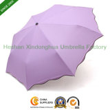 Magic Gift Rain Folding Umbrella with Pattern When Wet (FU-3821DW)
