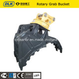 Hydraulic Excavator Rotable Rock Grab Bucket for 30tons Carrier