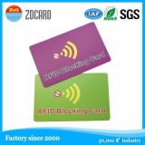 PVC Credit Card Protector RFID Blocking Card