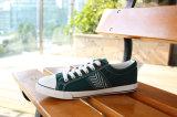 Classic Men′s Rubber Outsole Canvas Shoes Snc-02023