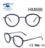 Fashion Style Vintge Round Rim Acetate Eyeglasses (HM886)