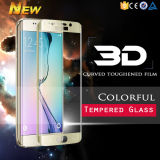 Mobile Accessory Colorful Full Cover Tempered Glass for Samsung S6 Edge Plus