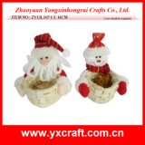 Christmas Decoration (ZY13L317-1-2 16CM) Christmas Eve Christmas Gift Preparation