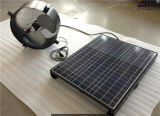 40W Solar Powered Gable Fan with Storage Battery for Greenhouse (SN2013015)