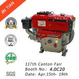 Portable 4-Stroke Single Cylinder Industrial Water Cooled Diesel Engine (JR190L)