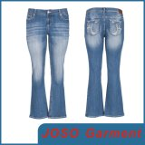Women MID-Rise Boot-Cut Jeans (JC1099)