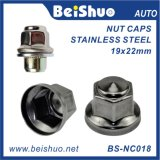 Car Stainless Steel Wheel Lug Nut Cover for Audi