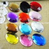 Non Hotfix Acrylic Accessories Taiwan Acrylic Rhinestone (FB-Oval 18*25mm)