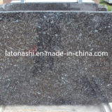 Cheap Price Blue Pearl Color Granite Stone Slab for Tombstone