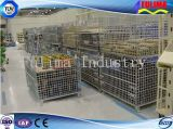 Storage Wire Cage/Basket/Container for Receiving Heavy Parts (FLM-K-009)
