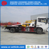 Dongfeng One Drive Three 8tons 10tons Flatbed Wrecker Truck