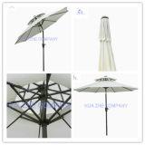 10FT Double Roof Outdoor Parasol Garden Umbrella