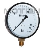 "Steel Case Pressure Gauge with 6"" Inch"