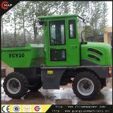 China 4X4 2 Ton Hydraulic Garden Mini Dumper Truck