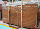 Wooden Vein Red Marble Slabs