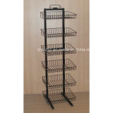 6 Tier Adjustable Wire Basket Rack (PHY323)