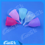Medical Grade Silicone Reusable Lady Menstrual Cups
