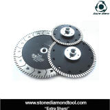 With Flange Diamond Turbo Disc for Cutting Grinding