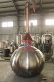 Stainless Steel and Copper Alembic Pot Still Alcohol Distillation Equipment