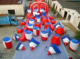 45 PCS Inflatable Paintball Bunker Obstacle Toys
