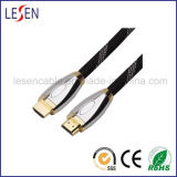 High-Speed HDMI Cable, Supports Ethernet, 3D and Audio Return, 1.4V, Metal Cover