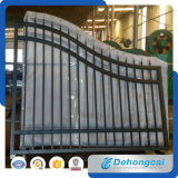 Modern European Cantilever Sliding Wrought Iron Gate/Door
