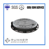 OEM Metal Iron Casting Manhole Cover with Sand Casting