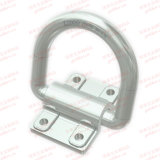 Zinc Plated Heavy Complete Lashing Ring with Plate 12 Ton