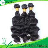 Natural Sweing Peruvian Virgin Hair for Body Wave