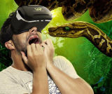 2016 High Quality Virtual Reality Vr 3D Glasses Remote Cardboard