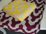 Jacquard Knitted Throw/Blanket
