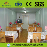 Stable Shipping Container Restaurant with Security Door and Window
