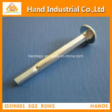 Precision Custom Stainless Steel, Flat Head, M4 Carriage Screw