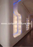 Corian Acrylic Solid Surface Interior Wall Decorating