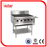 5 Burner Gas Barbecue Grill for Commercial Kitchen Equipment