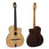 Wholesale Solid Spruce Handmade Petit Bouche Style Gypsy Jazz Guitar