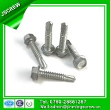 10# Stainless Steel Hex Washer Head Self Drilling Screws