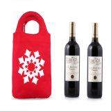 Custom Christmas Wine Bottle Bags