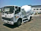 FAW 3/4 M3 Small Concrete Mixer Truck