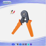 Self-Adjustable Hand Crimping Plier for Cable End-Sleeves