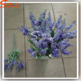 Silk Artificial Lavender Flowers for Home Decoration in Bouquet
