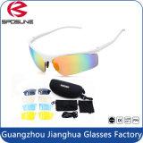 Unisex Coating Anti Glare Jogging Sports Sun Glasses