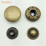 High Quality Metal Button Brass Spring Snap Button