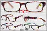 Fashion Paper Trasfner Color Reading Glasses for Ladies (WRP610713)