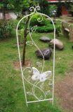 Butterfly Cast Iron Flower Stick