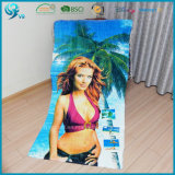 Wholesale 100% Cotton Velour Reactive Printing Sexy Beach Towel