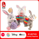 Wholesale Custom Plush Easter Bunny Colorful Eggs Bunny