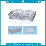 High Strength AG-Ss073 304 Ss Sterilizing Net Basket